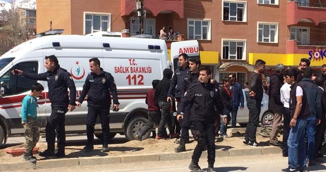 Yüksekova'da kaza:1 yaralı