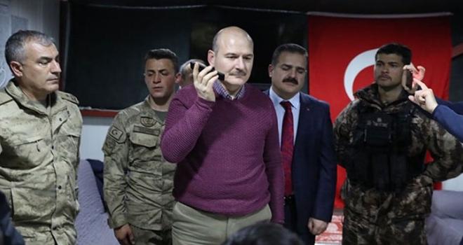 İçişleri Bakanı Soylu, Yeni Yıla Yüksekova'da Girdi